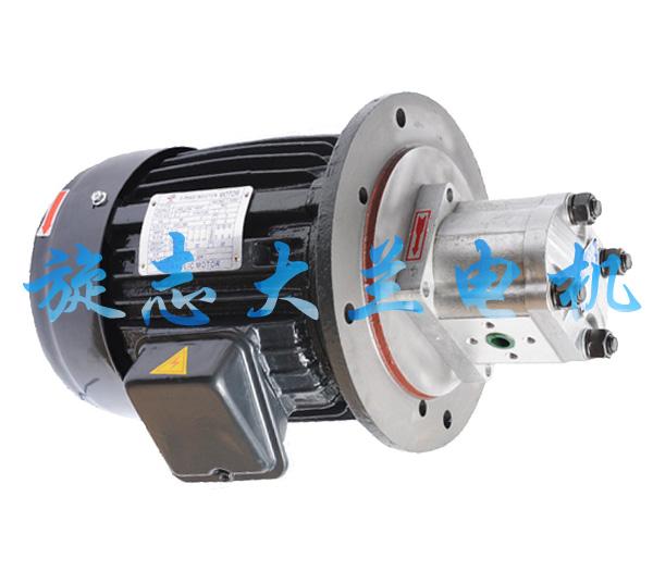 cbn立式液压油泵电机图片