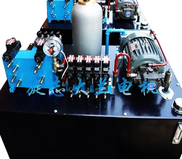 叶片泵专用油泵电机在石材机械液压系统中的应用