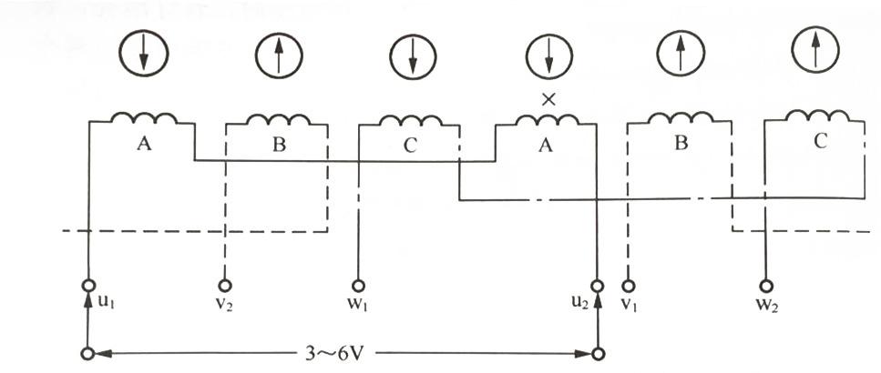 绕组并联支路电路图