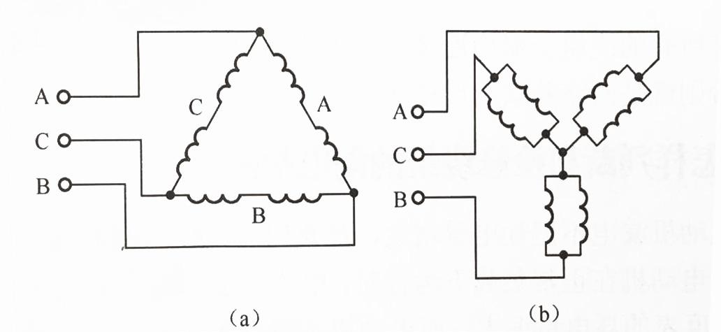 如何识别三相异步电动机定子绕组的实际接线?