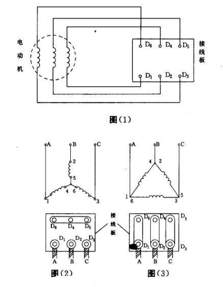 三相异步电机接线图