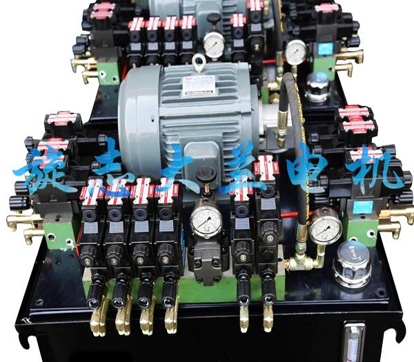 HGP-3A齿轮泵专用油泵电机在全自动打包机液压系统的应用