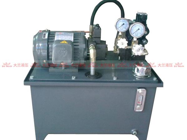 液压系统设计实例。