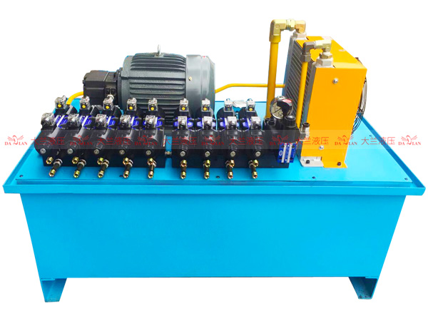 液压系统叠加阀的特点与分类